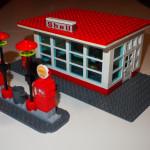 LEGO Tankstelle