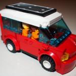 LEGO Solar Van