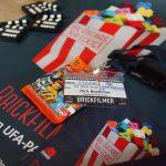 Steinerei 2016 - Brickfilmer-Ausweis mit Plakat und Programmheften