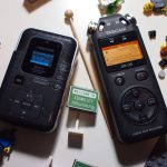 Digital Audio Recorder (links alt, rechts neu)