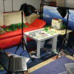 Dreharbeiten im Boettcher Productions Studio